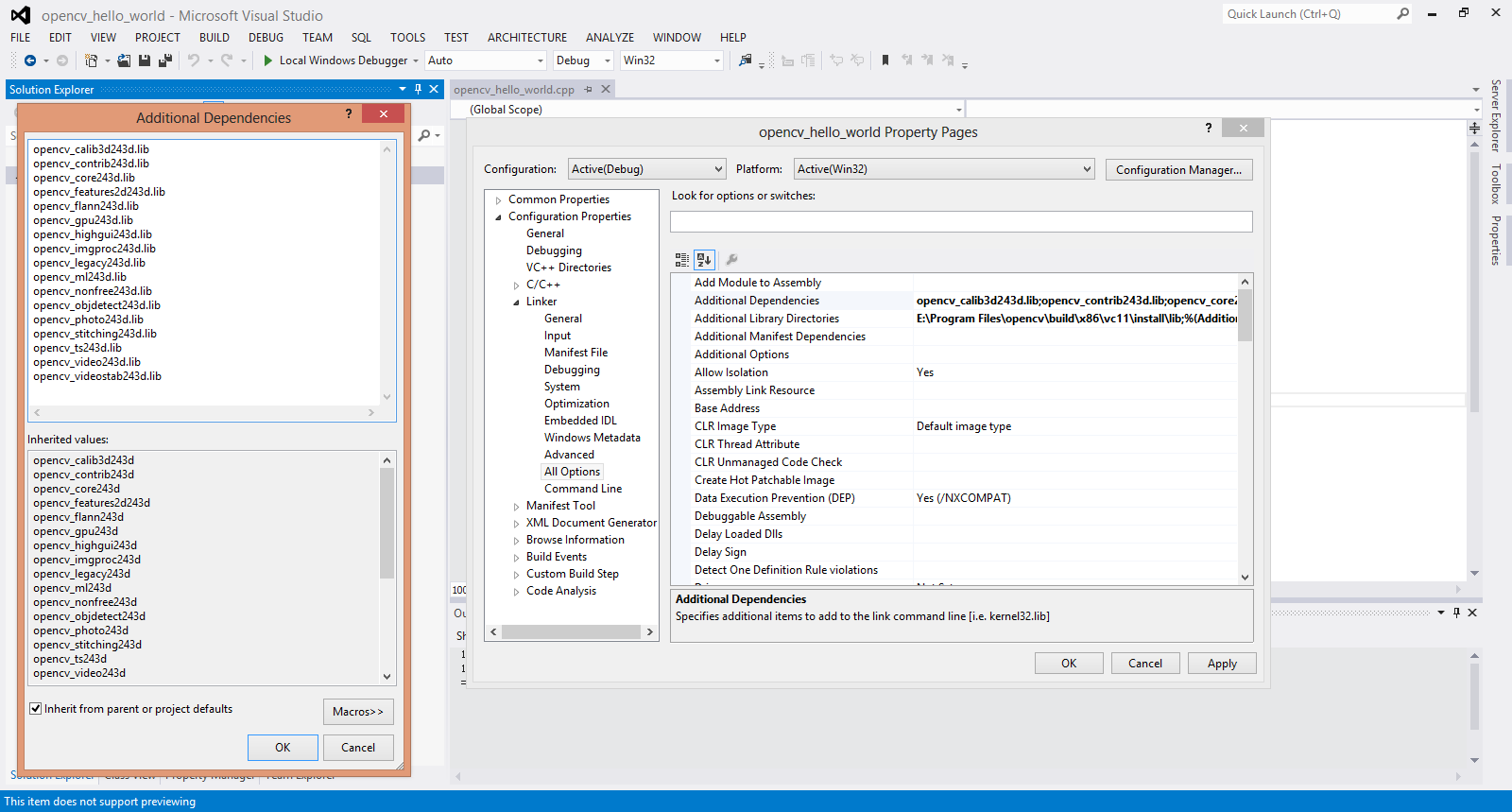 How to compile opencv 2 4 3 x86 and x64 using Visual Studio